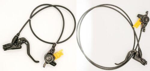 Magura mt2 freins à disque set roue avant roue arrière pm160 Noir-Neuf