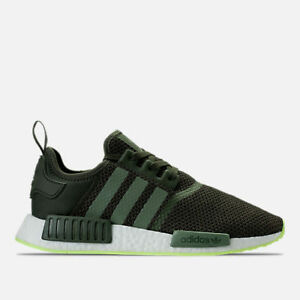 MENS ADIDAS NMD R 1 NIGHT CARGO/ GREEN RUNNING SHOES MEN'S SELECT YOUR SIZE