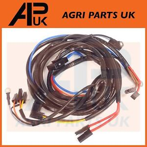 massey ferguson 165 168 178 185 188 tractor wiring harness. Black Bedroom Furniture Sets. Home Design Ideas