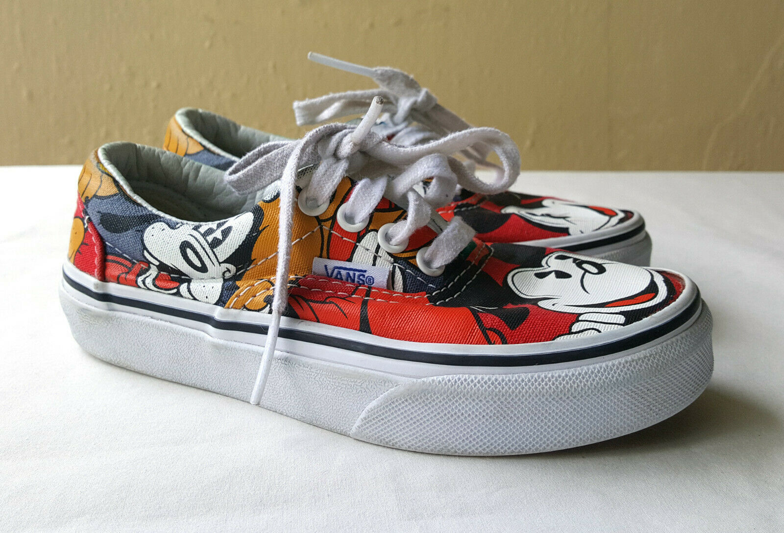Vans Disney Era Mickey and Friends Youth Mouse RETIRED