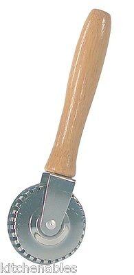 Fox Run Pastry Crimper - Ravioli Pasta Edger Sealer Cutter Wheel Turnover Pie