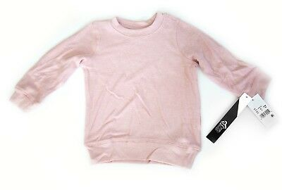 Afton Street Girls Pink Sweater Sweatshirt Long Sleeve Soft Size 4T Toddler