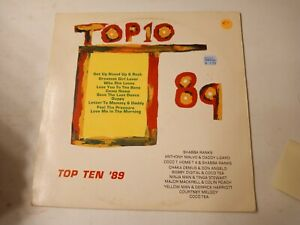 Top-Ten-039-89-Various-Artists-Vinyl-LP