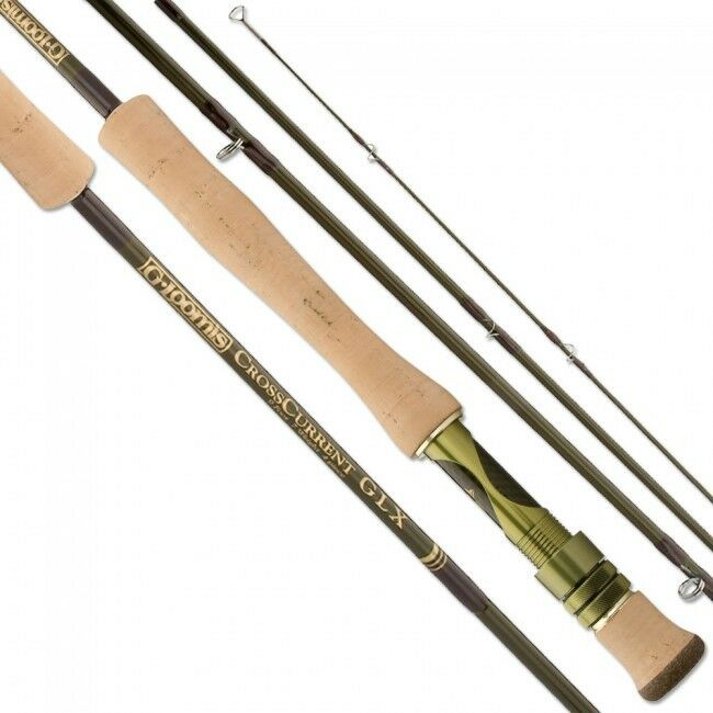 G LOOMIS CROSSCURRENT GLX SALTWATER FLY ROD FR1088-4 CC GLX BRAND NEW