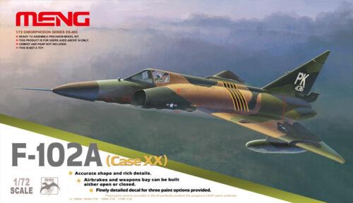 Case Xx Meng 1//72 Convair F-102A #DS-005