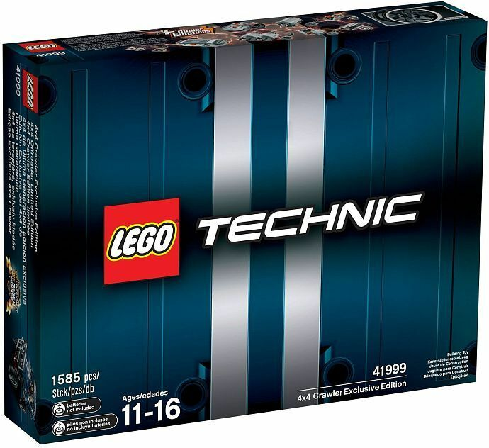 Lego Technic 41999 4x4 Crawler Exclusive Edition - NEW, Sealed