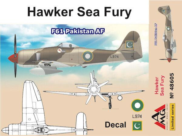 AMG 1 48 Model Kit 48605 Hawker Fury F.60 Pakistan AF