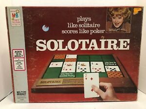 Vintage-1973-Milton-Bradley-Solotaire-Solitaire-Game-4330-Lucille-Ball