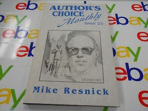 Author-039-s-Choice-Monthly-25-Mike-Resnick-Signed-amp-Limited-Pulphouse