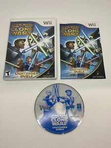 Star Wars: The Clone Wars - Lightsaber Duels (Nintendo Wii, 2008) Tested