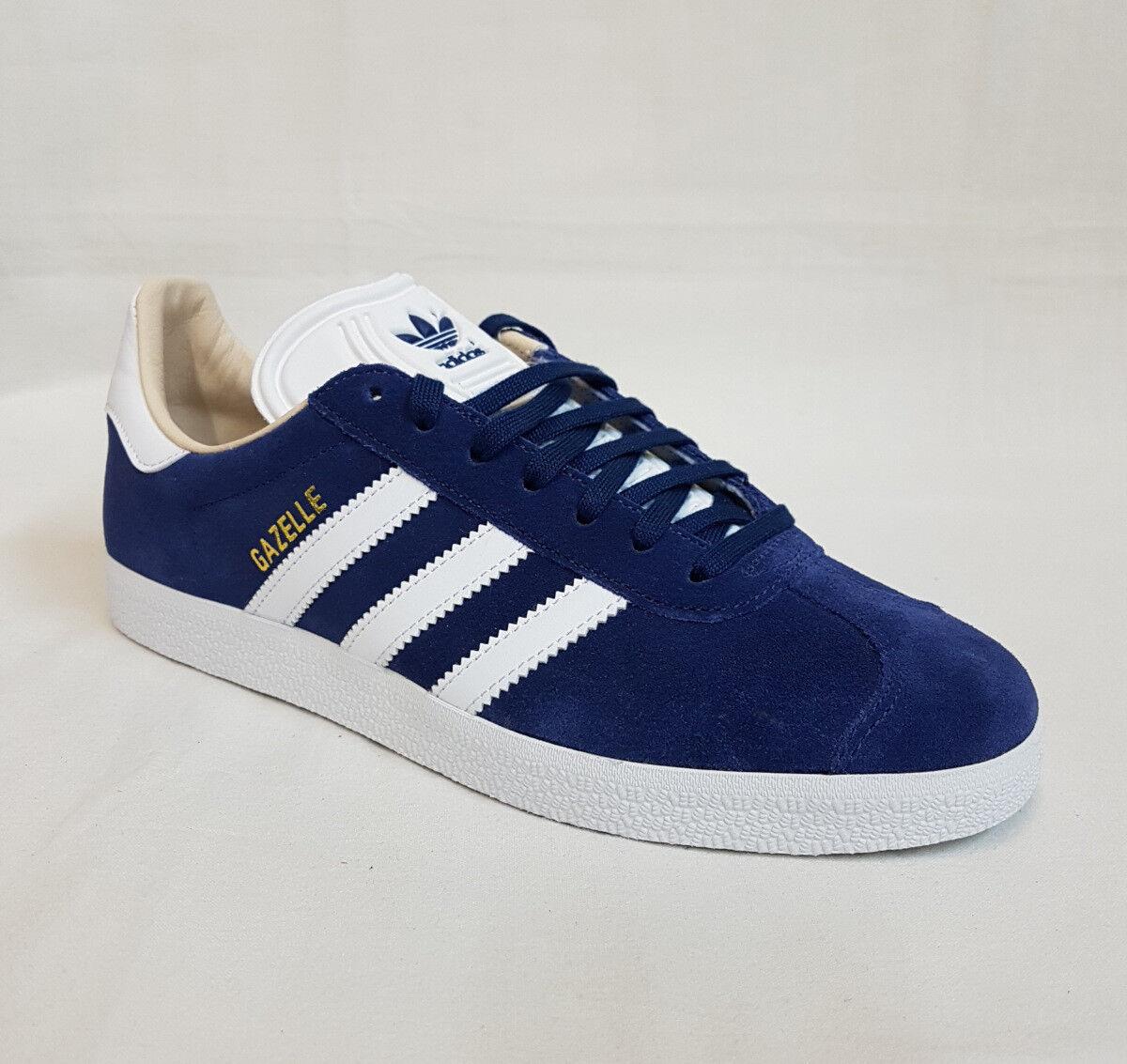 Adidas scarpe da ginnastica Donna Scarpe di pelle Gazelle Cq2187 Blu Indaco Sport
