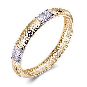 Damen-Armreif-Armband-Zirkonia-585er-Gold-14-Karat-vergoldet-rosegold-B2849S