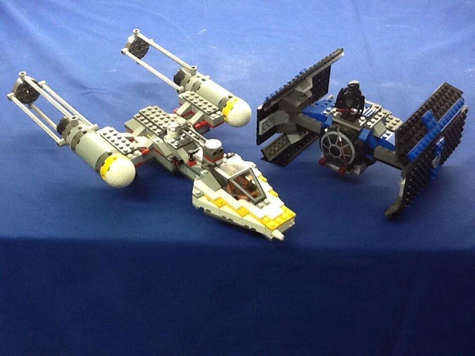 LEGO Set 7150 Star Wars Tie Tie Tie Fighter & Y Wing e7f4d1