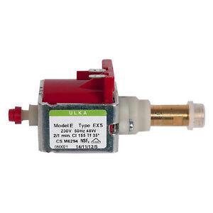 ULKA-EX5-VIBRATORY-PUMP-220-230V-48W-50Hz-COFFEE-ESPRESSO-MACHINE-Saeco-Krups