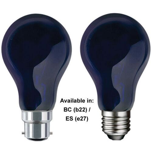 QTX effet UV lumière noire violet Ampoule GLS BC ES DJ comme ultraviolet 75W