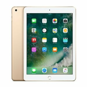Nouveau-Apple-iPad-2017-9-7-034-WiFi-32GB-Genuine-Apple-warranty-Gold