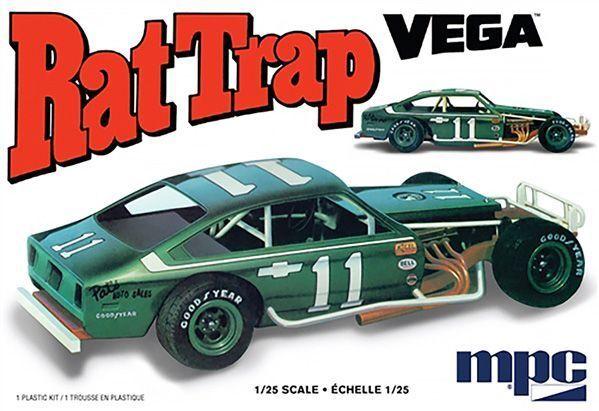 MPC 905 1/25 CHEVY RAT TRAP VEGA PLASTIC MODEL CAR KIT NEW SEALED MIB FREE SHIP