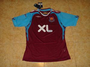 West Ham Womens Soccer Jersey Umbro Ladies Top Football Shirt ... 7bc0f5782