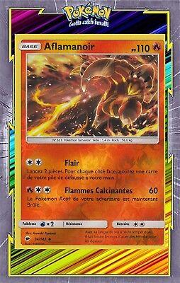 vf french Pokemon-aflamanoir x1-reverse-sl3-24//147