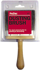 "ProDec 4"" Inch Dusting Brush Soft Bristle Brush Decorators Painters (RDG)"