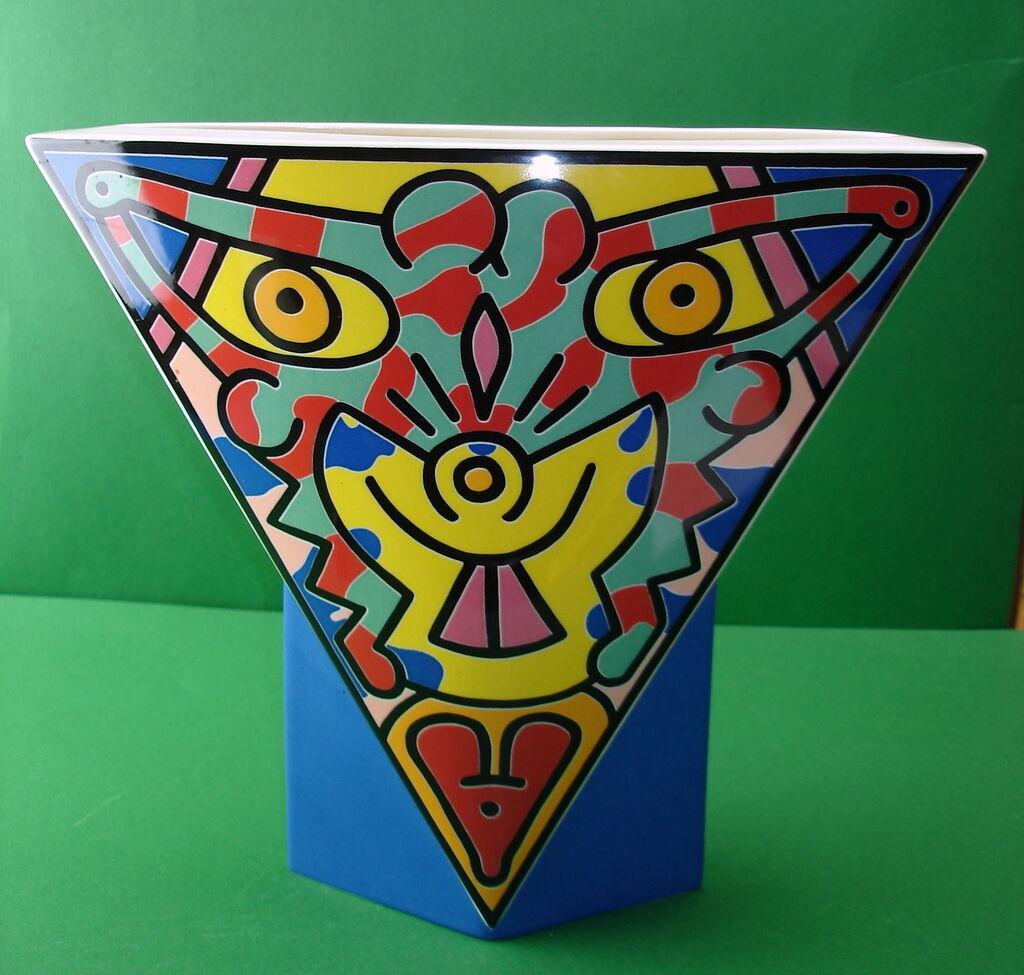Vase ca. 26 cm Villeroy & Boch Keith Haring limitiert 750 280 Spirit of Art      Rich-pünktliche Lieferung
