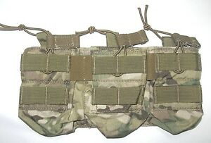Eagle-Industries-MULTICAM-5-56mm-Triple-Open-Top-Bungee-Mag-Pouch-Ammo-MOLLE-223