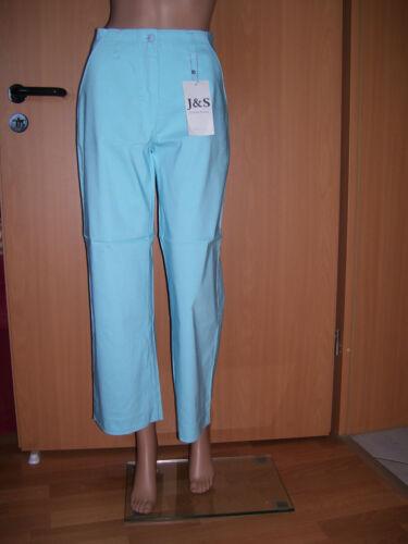 J/&S By Stephan Baumann Gianna STRETCH 7 8 Hose hellblau high waist 36 L28 NEU