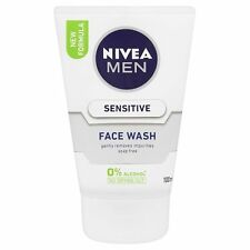 NIVEA Men Sensitive Face lavare con ACTIVE COMFORT SYSTEM - 100ml