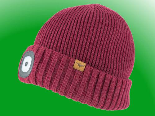 Seal Skinz Waterproof Cold Weather LED Roll Cuff Beanie Hat wasserdichte Mütze