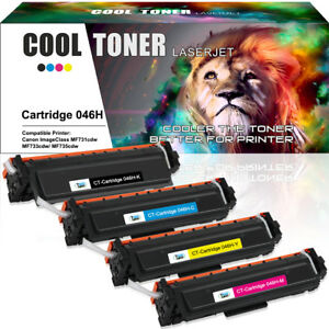 4-Pack-Fits-for-Canon-046H-Toner-Set-for-ImageClass-MF733Cdw-MF731Cdw-LBP-654Cdw