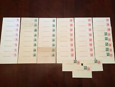 Antique Blank Prepaid POSTCARD Uncirculated 1 Cent WASHINGTON Postage Stamp Lot
