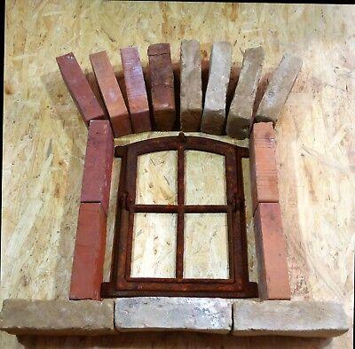 Begeistert 303a Antik Stallfenster Gußeisenfenster Mauersteine Stallgitter Natursteinmauer Strukturelle Behinderungen