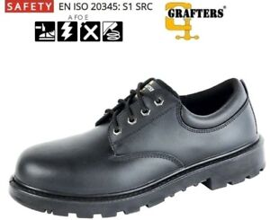Mens Grafters Safety Smart Work Shoes