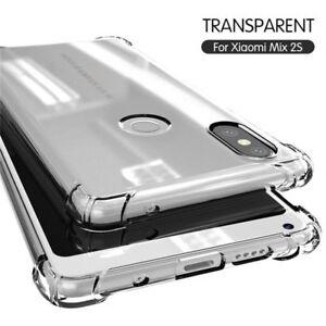 For-Xiaomi-Mi-8-SE-Lite-A2-A1-Max-3-Mix-3-Transparent-Soft-Shockproof-Case-Cover