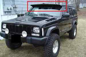 Image Is Loading JEEP CHEROKEE XJ FORWARD SPOILER SUN VISOR NEW