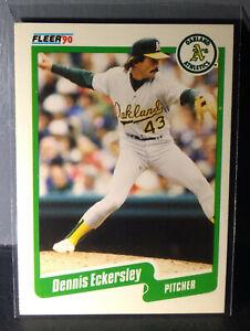 1990 Dennis Eckersley Fleer Baseball Card #6