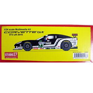 Studio27-CC2414-1-24-Chevrolet-Corvette-C6R-LM-2010-73-resin-kit