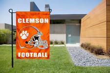 "Clemson Tigers Garden Yard Decorative Flag 12.5/"" x 18/"" NEW"
