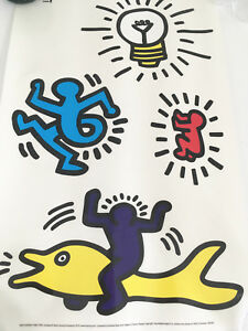 Image Is Loading IKEA Slatthult Rare Collectable Keith Haring Wall Stickers  Part 86