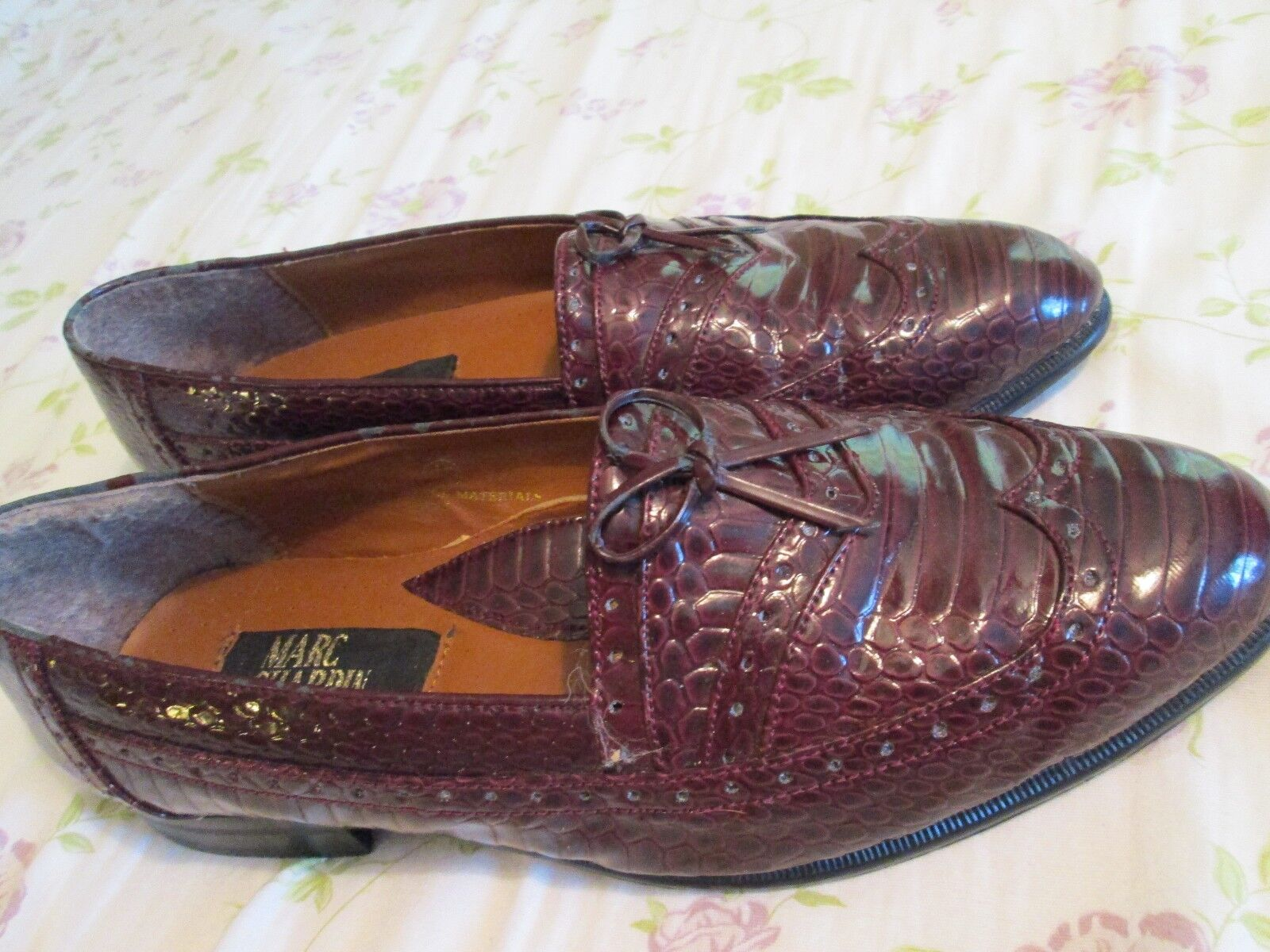 MEN'S Marc CHARDIN BROWN SLIP ON, LOAFERS, Shoes  Size 9 1/2 D