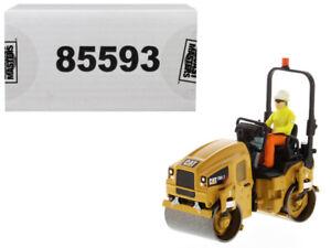 CAT-CATERPILLAR-CB-2-7-UTILITY-COMPACTOR-W-OPERATOR-1-50-DIECAST-MASTERS-85593