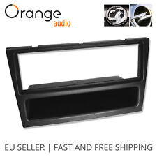 Vauxhall Opel Vivaro Radio Faceplate Single Din Fitting Fascia Car stereo black