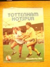 29/08/1979 Tottenham Hotspur v Manchester United [Football League Cup] . No obvi