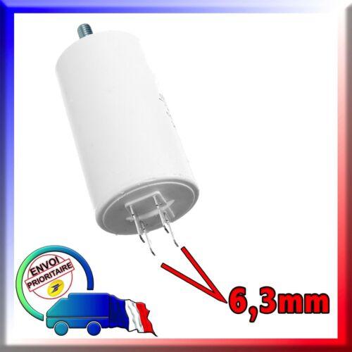 Condensateur de démarrage pour moteur de 55μF - 55uF