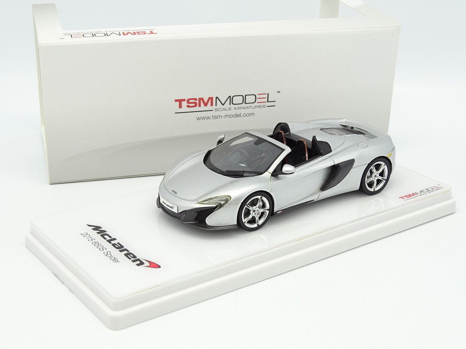 Vero Scale Modello TSM 1 43 - McLaren 650S Ragno 2015 argentoo