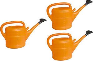 # 2x 10L Gartengießkanne Gieskanne Gießkanne Blumengießkanne orange