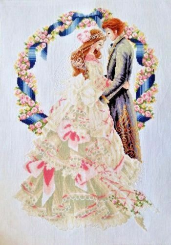 """New Completed finished Cross stitch/""""Beauty Wedding/""""home decor gifts"""