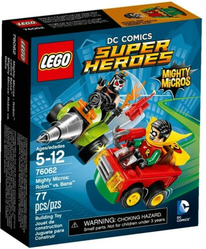 LEGO DC Comics Super Heroes 76062 Mighty Micros Bane Robin vs
