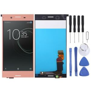 For-Sony-Xperia-XZ-Premium-LCD-Display-Replacement-Panel-Touch-Digitizer-PINK