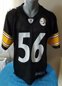 Details about NFL PITTSBURGH STEELERS Retro #56 LaMARR WOODLEY Football Jersey Maillot Reebok
